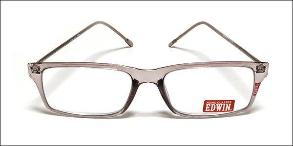 EDWIN(エドウィン) リーディンググラス 老眼鏡 シニアグラス グレー EDR-31-2