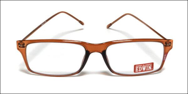 EDWIN(エドウィン) リーディンググラス 老眼鏡 シニアグラス ブラウン EDR-31-3