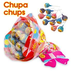 クラシエ チュッパチャプス Chupa Chups フラワーブーケ 12本入 全2色 キャンディブーケ