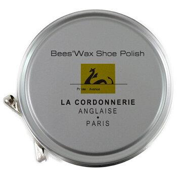 靴磨き・艶出しワックスコルドヌリ・アングレーズ(LACORDONNERIEANGLAISE)ビーズワックスポリッシュ50ml(全5色)あす楽対応