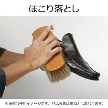 靴磨き用ブラシLeBeau(ルボウ)オリジナルピュアホースヘアブラシあす楽対応