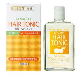 【あす楽】 柳屋 ヘアトニック 柑橘 240ml『5』