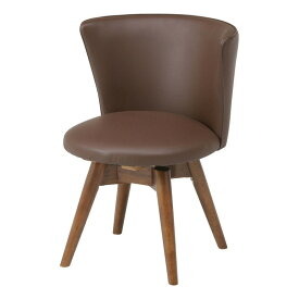 【送料無料_b】ダイニングチェア 回転チェア デザイナーズ 座面回転 チェア 椅子 イス PVC クラム 簡単組み立て