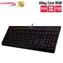 キングストン HyperX Alloy Core RGB メンブレンゲーミングキーボード 日本語配列 HX-KB5ME2-JP Kingston 日本語キー…