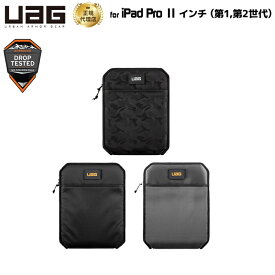 【10%OFFクーポン配布中】UAG 11インチiPad Pro用 SLEEVE ブラック 耐衝撃 UAG-SLVMLTシリーズ ユーエージー スリーブ アイパッドプロ 高耐久ナイロン 840D フロントファスナーポケット