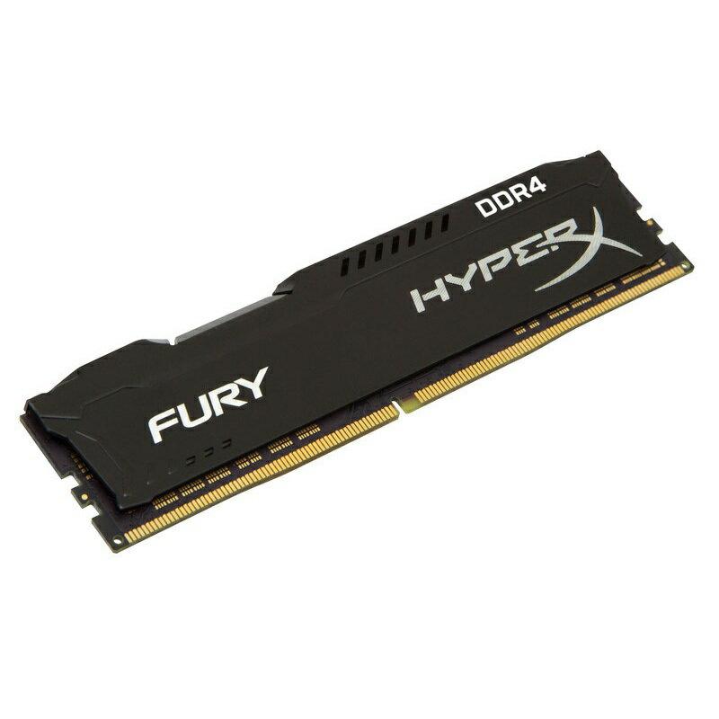キングストン HyperX FURY Black 4GB 2400MHz DDR4 CL15 DIMM 288pin HX424C15FB/4
