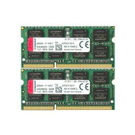 キングストン 増設メモリ 16GB(8GB×2枚組) 1600MHz DDR3L Non-ECC CL11 SODIMM (Kit of 2) 1.35V KVR16LS11K2/16 製品寿命期間保証 Kingston