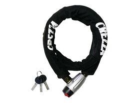 リンクロック バイク 鍵 キー CREZZA LW-011 リンクロック ブラック LW-011A/リード工業