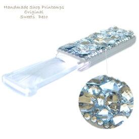 LEDハンディルーペ スリムタイプ 拡大鏡 ビージューデコ 虫メガネ
