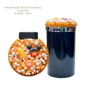 灰皿 オレンジ スイーツデコ 車用灰皿 カー用品 かわいい灰皿 選べるデザイン 吸殻入れ 喫煙アイテム