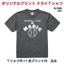 オリジナルスポーツTシャツ 4.1ozドライTシャツ5900 チームウェアに最適 50枚〜99枚 プリント オーダーメイド クラスTシャツ イベントTシャツ 体...