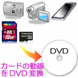 スマホ デジカメ動画から DVDビデオ作成