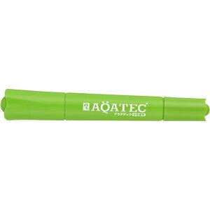 寺西化学工業 マジックインキ アクアテック水性顔料(太・細両用)黄緑 MAQ50-T9