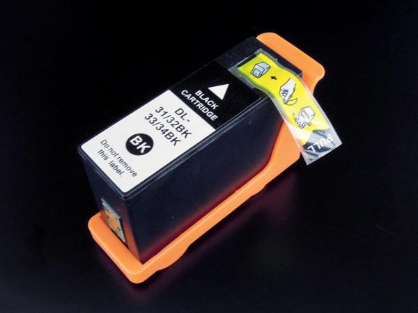 デル(DELL) 31・32・33・34(G732W/T9FKK/KNTYH/2T2PT )互換インクカートリッジ ブラック Dell V525w V725w【送料無料】【あす楽対応】
