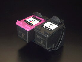 CH563WA CH564WA HP用 HP61XL リサイクルインク 増量 ブラック&カラーセット