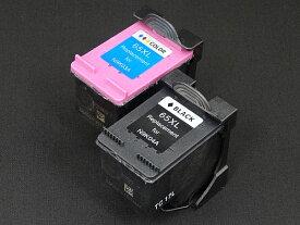 N9K04AA N9K03AA HP用 HP65XL リサイクルインク 増量 ブラック&カラーセット 増量ブラック&増量カラー