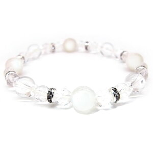ブルームーンストーン 6月 誕生石 ブレスレット 数珠ブレス 水晶 天然石 バースストーン ブレスレット パワーストーン 送料無料
