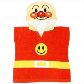 タオルキャップ 男の子 バスタオル アンパンマン キャラクター 1歳 2歳 4歳 フード付 着せるタオル