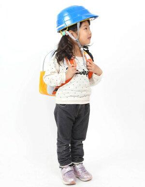 オサメットジュニアA4サイズに収納できる子ども用の防災ヘルメット。当店だけのオリジナル反射材付き
