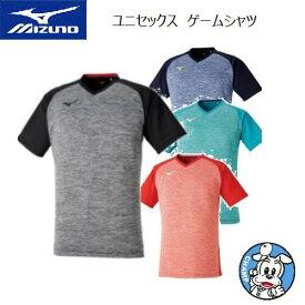 ミズノ ラケットスポーツ バドミントン テニス ソフトテニス ウェア ユニセックス ゲームシャツ 72MA0007