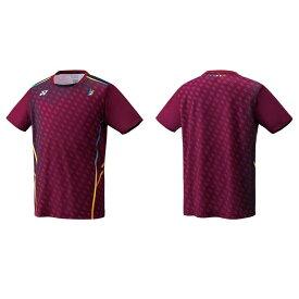 【限定商品】リンダン選手モデル YONEX バドミントンウェア メンズゲームシャツ(フィットスタイル) 10296Y