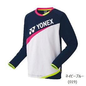 【ジュニア専用】【数量限定商品】YONEX バドミントンウェア ジュニア ライトトレーナー31043J