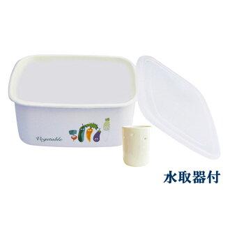 냉장고용 법랑 쌀겨 담그어 용기(쌀겨마루 용기)