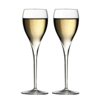 イタレッセ champagne glass 2 pieces set fs3gm