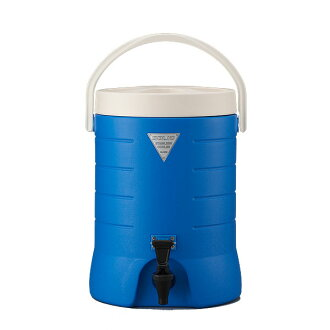 Stainless steel insulated jug (blue) 15 L