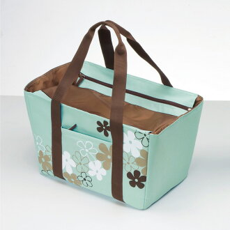 Insulated レジカゴ bag W fastener type 26 L Mint (NV-CM26) ( insulated bags, insulated back eco bags レジャーバッグ shopping bag ) fs3gm