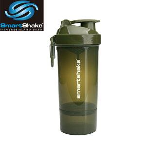 プロテインシェーカー スマートシェイク O2GO ONE グリーン縦ロゴ kss1201シェーカーボトル サプリメントケース