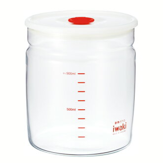iwaki Pyrex sealing up preservation container (sealing up pack) .1L fs3gm