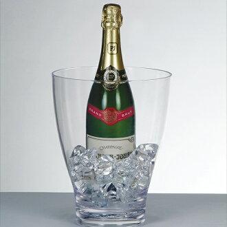 Clear wine cooler・deep ball
