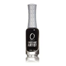 オーリー ORLY インスタントアーティスト 9mL 品番 47020 ジェットブラック 絵の具 ライナー