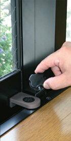 ノムラテック(Nomura tec)ウインドロックZERO(1P/シルバー)(二重安全装置付サッシ用補助錠)二重にロックし外部からの侵入を遮断!