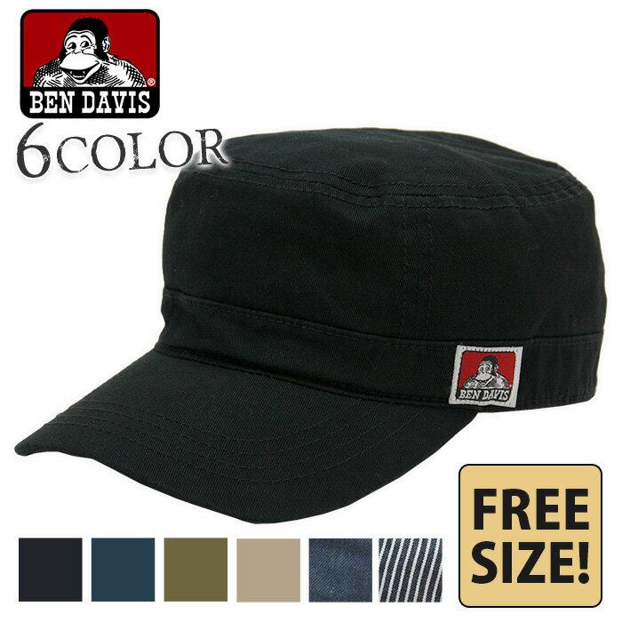 キャップ BEN DAVIS ベンデイビス ワークキャップ 帽子 ベンデービス メンズ レディース フリーサイズ アジャスター付き 綿 コットン シンプル BDW-9431 bendavis2-518