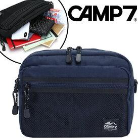 CAMP7 キャンプセブン ショルダーバッグ 正規品 レディース メンズ 男女兼用 人気 おしゃれ ブラック A5 SQUARE SHOULDER M スクエア ショルダー エム CAP-9010