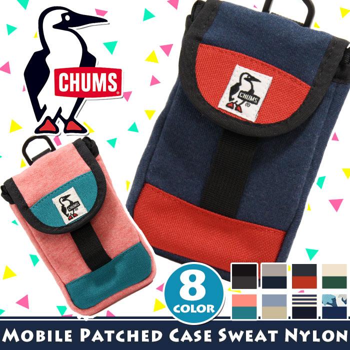 チャムス スマホケース CHUMS iphone 6 6s iphone7 iphone8 スマートフォンケース スマホ ケース カバー スマートフォンアクセサリー 携帯 スマートフォン 軽量 ポーチ スウェット おしゃれ かわいい 小物 雑貨 CH60-2364