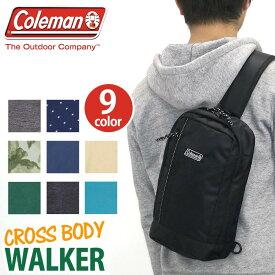 【ポイント5倍】 Coleman コールマン CROSS BODY クロスボディ 正規品 ウエストポーチ ボディバッグ メンズ レディース 男女兼用 ブラック ネイビー 2L