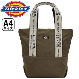 Dickies ディッキーズ トートバッグ スタンダードタイプ テープ トート バッグ DK TAPE TOTE ジャカード トート カジュアル アウトドア スポーツ ジム 黒 メンズ レディース 男女兼用 A4 16L 14560000