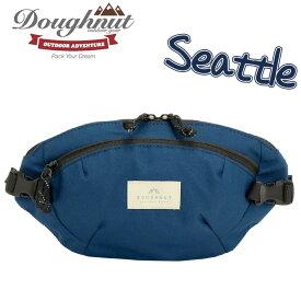 【ポイント5倍】 doughnut ドーナツ ウエストバッグ Seattle ウエストポーチ バッグ かばん メンズ レディース 男女兼用 おしゃれ 人気