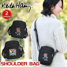 9e60bb61eb5a 【ポイント5倍】 Keith Haring キースへリング ショルダーバッグ ショルダー ミニショルダー メンズ