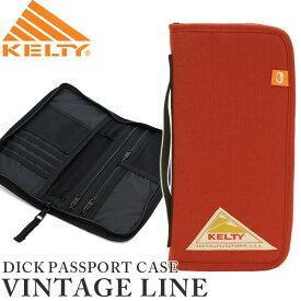【SALE】 KELTY ケルティ 正規品 DICK PASSPORT CASE ディック パスポート ケース ヴィンテージライン 財布 ブラック ポーチ ビジネス メンズ レディース 男女兼用 2592164