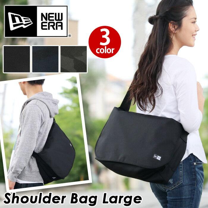NEW ERA ニューエラ ショルダー 正規品 ショルダー ショルダーバッグ メンズ レディース 男女兼用 ブラック カモネイビー カモブラック 20L ショルダーバッグラージ Shoulder Bag Large