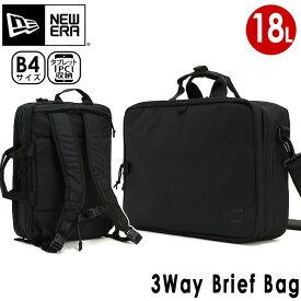 NEW ERA ニューエラ ブリーフバッグ 2019 正規品 リュックサック ショルダーバッグ 3WAY ビジネス 通勤 メンズ レディース 男女兼用 ブラック 16L スリーウェイ ブリーフバッグ Business Bag Collection 3-Way Brief Bag