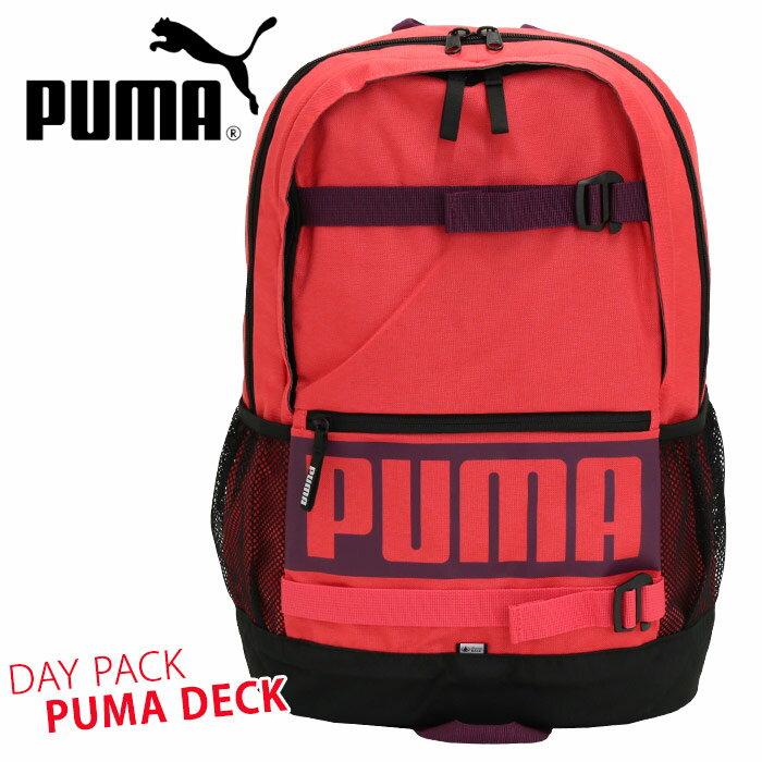 【イベント期間中ポイント5倍】 PUMA プーマ プーマデッキ バックパック リュックサック デイパック メンズ レディース 男女兼用 黒リュック ブラック ネイビー 24L F074706