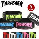 THRASHER スラッシャー ラバーバンド ラババン メンズ レディース 男女兼用 ブラック THRRW100