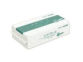 【200枚入】大王製紙 ペーパータオル エルヴェ−ル エコドライ 中判 シングル 再生紙 1パック単位 00602668