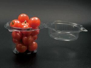 【1000枚入/ケース】 プラカップ ミニトマトカップ SP-280 プラスチックカップ パックスタイル 使い捨て容器 ミニトマト 00609448