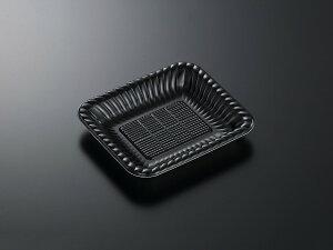 【1200枚】PDプレート K20-17 黒内 身 中央化学 精肉 焼肉 カルビ テイクアウト 使い捨て 00304387